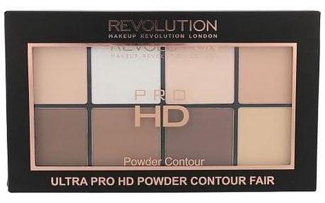 Makeup Revolution London Ultra Pro HD Powder Contour Palette 20 g konturovací paletka pro ženy Fair