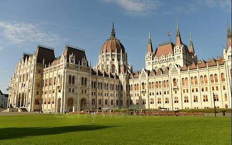 Nádherný pobyt v centru Budapešti v hotelu Atlas City - celoročně!