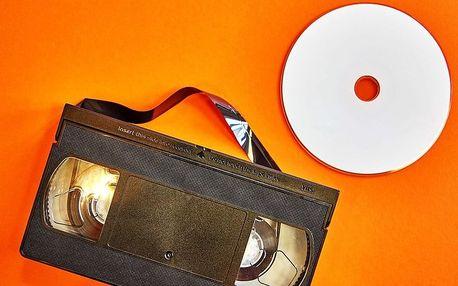 Převod záznamu z VHS kazety na DVD či flash disk