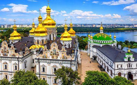 Ukrajina vlakem: Kyjev, Pripjať i Černobyl