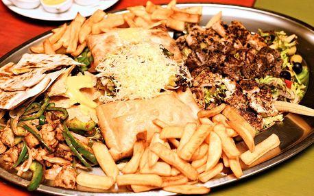 Degustační mexické menu pro 2 nebo 3–4 osoby