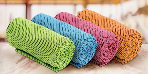 Chladicí ručník: osvěžení ve fitku i při sportu
