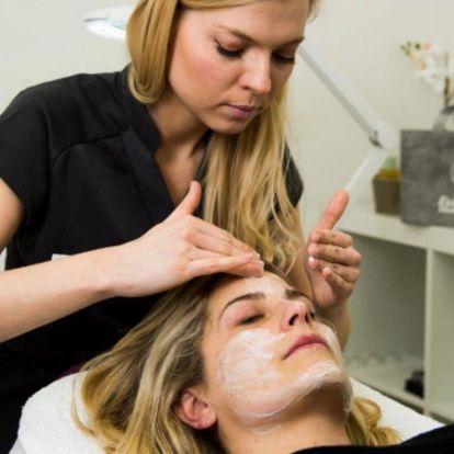 Hodinové kosmetické ošetření včetně masáže
