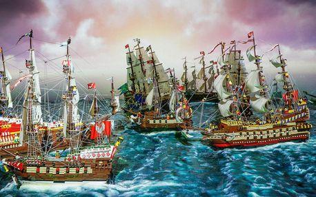 Vzrušující HistoryLand - svět z milionu LEGO kostek