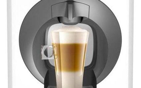 Espresso Krups NESCAFÉ Dolce Gusto Oblo KP110131 bílé + dárek Kapsle pro espressa NESCAFÉ Dolce Gusto® Latte Macchiatto BOX