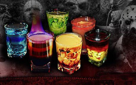 2–4 shoty v hororovém baru Nightmare Prague