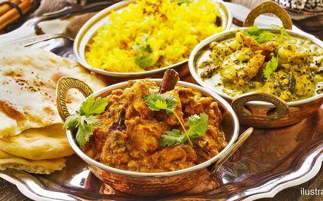 Nepálské vege i masové speciality pro 1 nebo 2