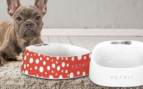 Designové misky pro psy a kočky s digitální váhou
