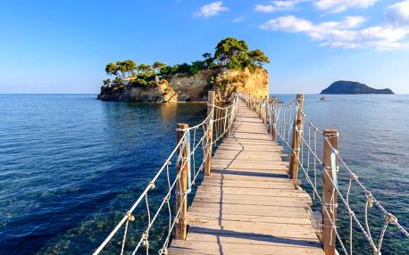 Řecko - Zakynthos letecky na 8-15 dnů, snídaně v ceně