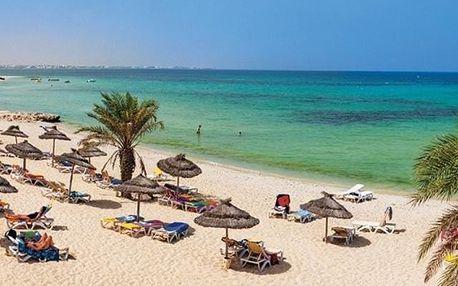 Tunisko - Djerba na 8 dní, all inclusive s dopravou letecky z Bratislavy