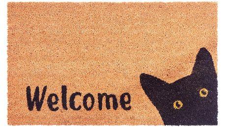 Trade Concept Kokosová rohožka Cat Welcome, 40 x 70 cm