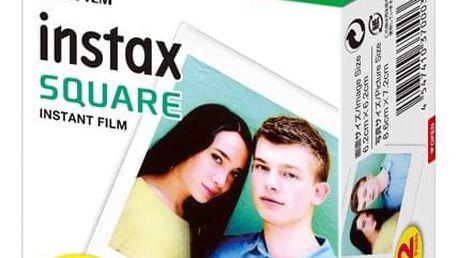 Instantní film Fujifilm Instax Square White 20ks (16576520)