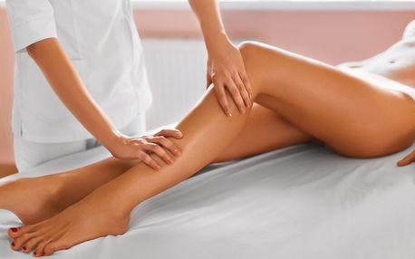 Lymfatická nebo anticelulitidní masáž či depilace