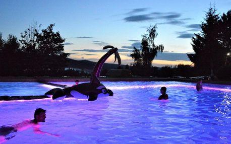 Léto v Hotelu Podlesí s bazénem a Pohádkovou vesničkou