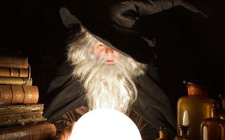 Napínavá dětská únikovka Čaroděj pro 3 až 7 hráčů