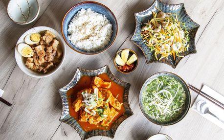Letní asijské menu pro 1 nebo pro 2 osoby