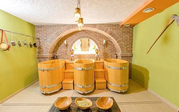Orava v Penzionu Zbojnická Koliba s polopenzí, wellness a pivní koupelí