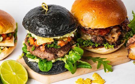 Burgerové menu s hranolky a citronádou pro 1 či 2
