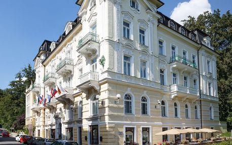 Hotel Westend**** v Mariánských Lázních s polopenzí a saunou