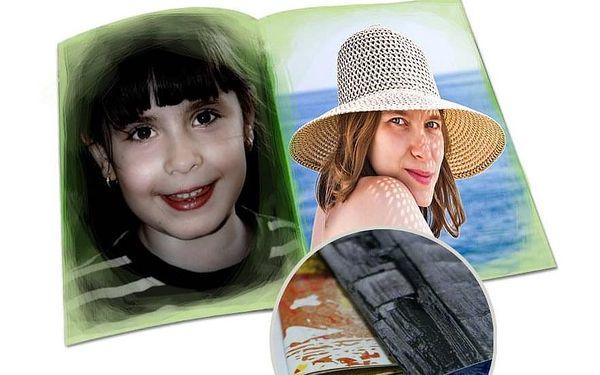 Fotokniha A4 – OM05 40 stran, měkká vazba, na výšku4