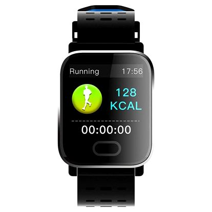 Chytré hodinky IMMAX SW11 černé (09016)