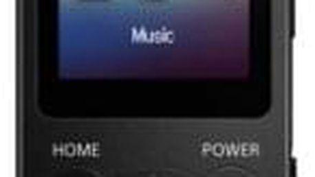 Sony NW-E394 8 GB, černá