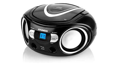 Radiopřijímač s CD Hyundai TRC 533 AU3BS černý/stříbrný