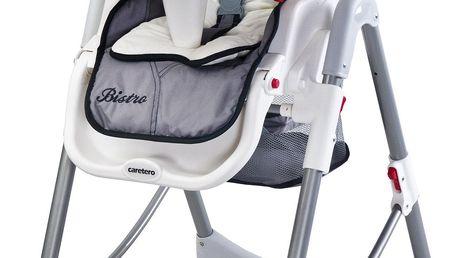 CARETERO Jídelní židlička Bistro – grey