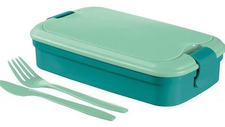 CURVER LUNCH & GO 00768-B36 Svačinový box - modrý