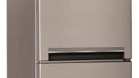 Kombinovaná lednice s mrazákem dole Indesit LI8 S1 X, A+