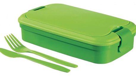 CURVER LUNCH & GO Svačinový box - zelený