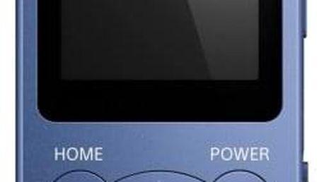 Sony NW-E394 8 GB, modrá
