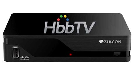 Set-top box Zircon AIR T2 s HbbTV černý