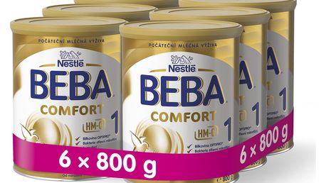 6x BEBA COMFORT 1 HM-O (800 g) - kojenecké mléko
