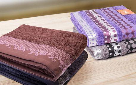 Měkké a savé bavlněné ručníky a osušky z Turecka