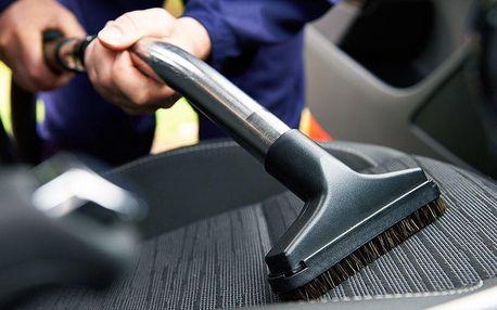 Suché či mokré čištění interiéru auta i voskování