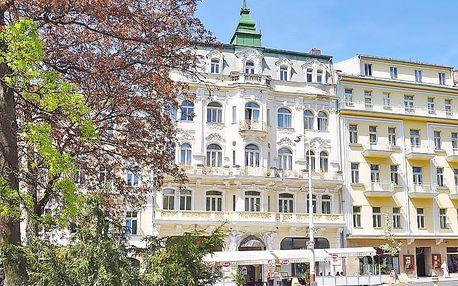 Mariánské Lázně v hotelu v centru s až 8 procedurami pro každého a plnou penzí, přes léto i na týden