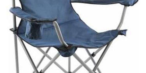 Divero 35104 Skládací kempingová židle XL - modrá
