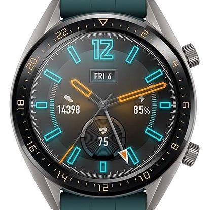 Chytré hodinky Huawei Watch GT Active zelené (55023721)