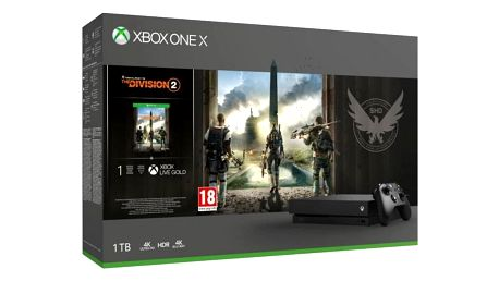 XBOX ONE X 1 TB + Tom Clancy s The Division 2