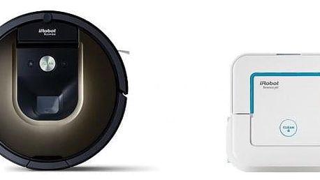 Robotický vysavač iRobot Roomba 980 + Br