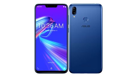 Mobilní telefon Asus ZenFone Max M2 Dual SIM modrý (ZB633KL-4D071EU)