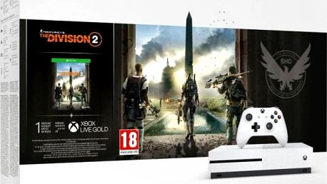 XBOX ONE S 1 TB + Tom Clancy s The Division 2