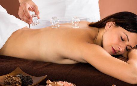 Sportovní i relaxační masáž či baňkování