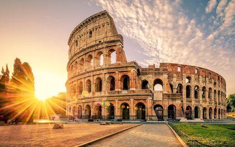 Řím pro náročné: letenky a 3 noci přímo v centru