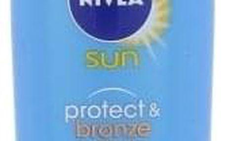 Nivea Sun Protect & Bronze Sun Lotion SPF20 200 ml voděodolné mléko podporující zhnědnutí unisex
