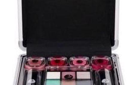 2K Beauty Basic Train Case dárková kazeta pro ženy Complete Makeup Palette
