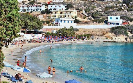 Řecko - Karpathos na 8 až 12 dní, bez stravy s dopravou letecky z Prahy