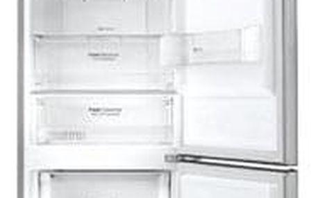 Kombinovaná lednice s mrazákem dole LG GBB59PZMZS, A++