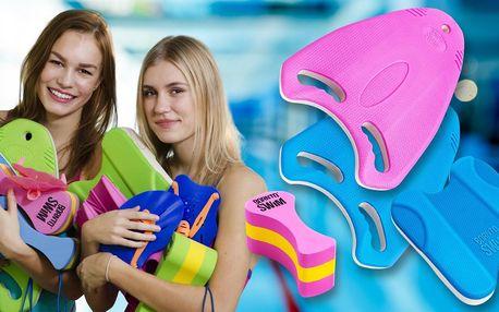 Hurá k vodě: plavecké tréninkové desky a piškoty